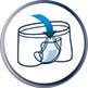 Díky lepicímu fixačnímu proužku je snadno přichytíte ke spodnímu prádlu