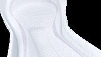 Urcené nastredný až tažkýúnik mocu so zónou InstaDRY™ na rýchlu absorpciu