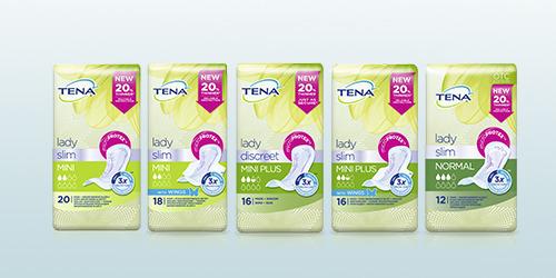 TENA Lady Slim ponuka produktov
