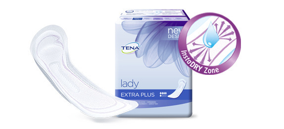 TENA Lady InstaDRY™