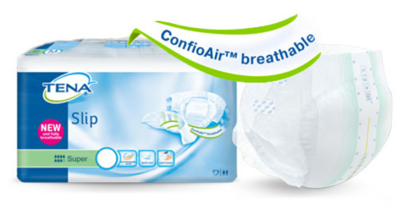 TENA Slip and TENA Comfort with ConfioAir™