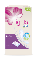 lights by TENA Single wrapped bladder weakness liner - for women on the move