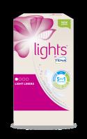 lights by TENA lichte inlegkruisjes voor vrouwen met licht urineverlies