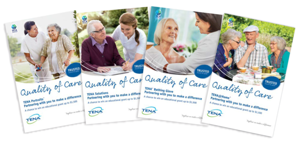 Image of Quality of Care Brochures for TENA@Home - TENA Professionals