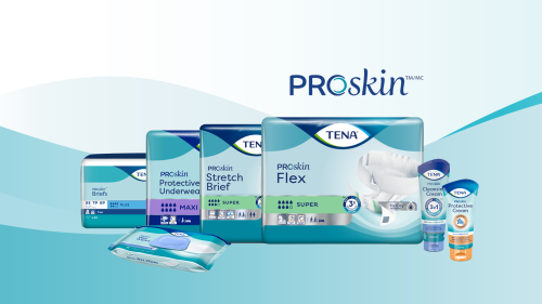 The Full Line of TENA Proskin Products for your Facility or HME