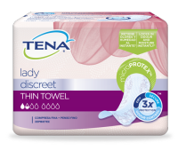 TENA Lady Discreet Thin Towels