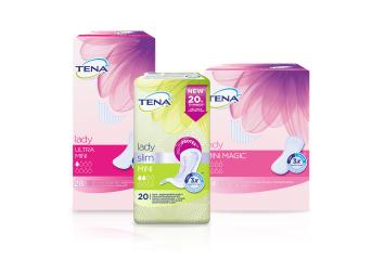Ponuka TENA produktov pre ženy