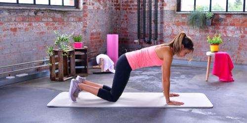 Übung 7: Auf die Knie