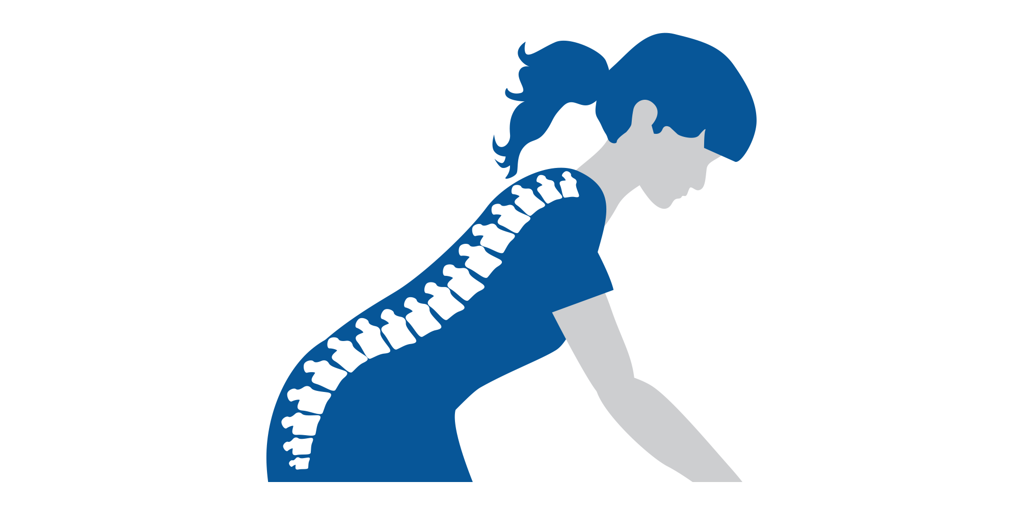 bøyd rygg